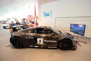 Public Viewing des 24-Stunden-Rennens von Le Mans live im Audi Forum Neckarsulm mit buntem Rahmenprogramm.