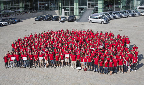 Audi-Freiwilligentag Ingolstadt 2015: