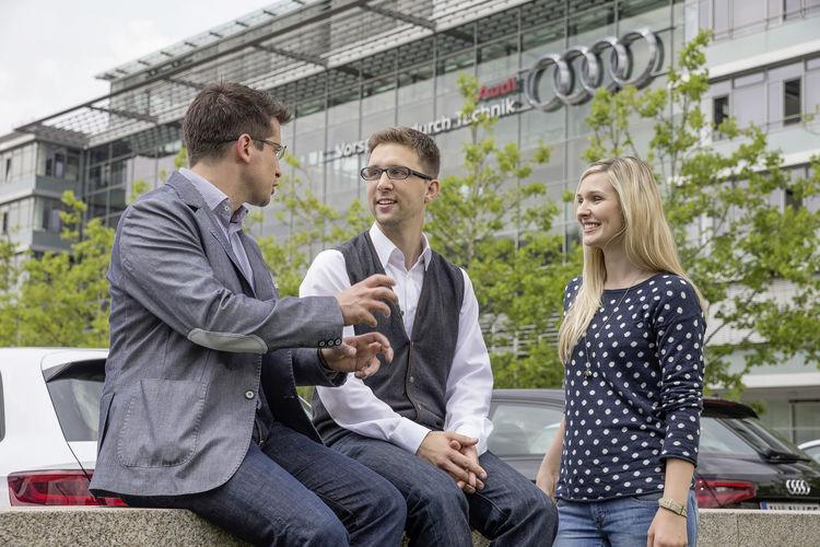 Universum-Studie: Spitzenplatzierungen für Audi bei Young Professionals