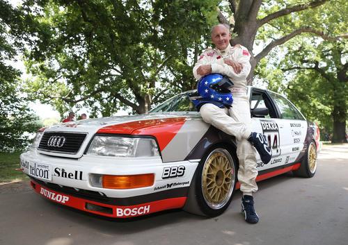 Hans-Joachm Stuck and the Audi V8 quattro (Norisring winner 1990)