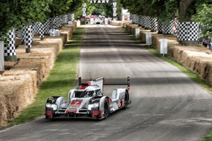 Audi Tradition mit Klassikern in Goodwood