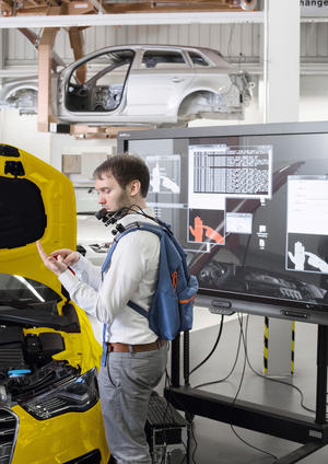 Audi Production Lab: journey into the future