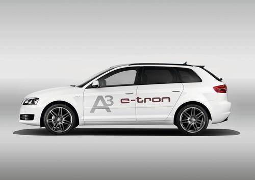 The Audi A3 e-tron technology platform