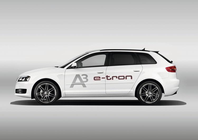 Technikträger Audi A3 e-tron