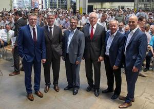Audi Betriebsrat: Mit dem neuen Audi A4 in eine beschäftigungssichere Zukunft