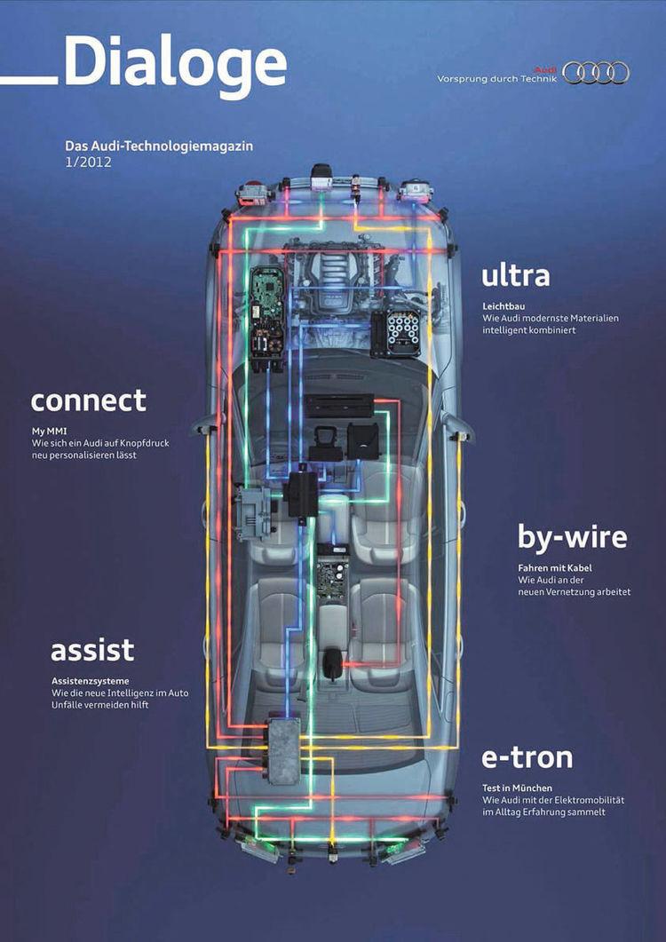 Zweite Ausgabe des Audi-Technologiemagazins