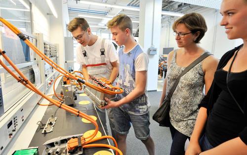 Impressionen vom Tag der offenen Tür im Audi-Bildungszentrum am 11. Juli 2015