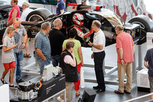 Der 5. Audi Erlebnistag am 11. Juli 2015 im Audi Forum Neckarsulm.