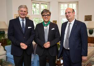 """Luca de Meo receives honorary title """"Commendatore al Merito della Repubblica Italiana"""""""