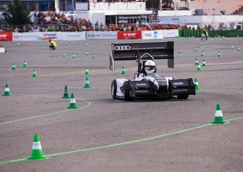 Audi startklar für Formula Student Germany