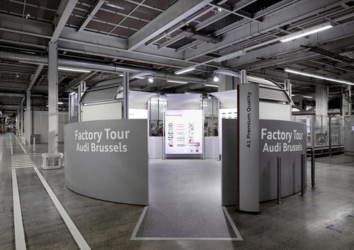 Audi Brussels – Factory Tour
