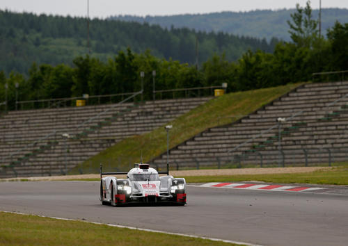 WEC Test Nürburgring 2015
