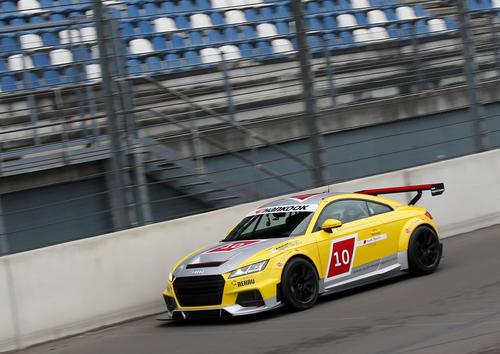 Audi Sport TT Cup Test Lausitzring 2015