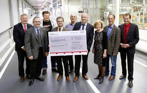 Audi-Spende für die Region