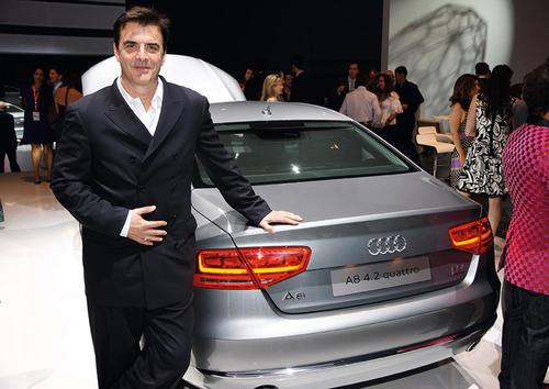 Weltpremiere des neuen Audi A8 in Miami