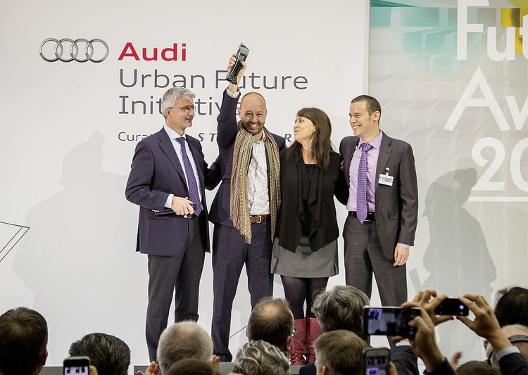 Data collectors from Mexico City win Audi Urban Future Award 2014