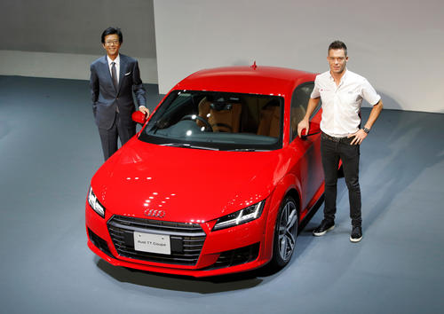 Präsentation Audi TT in Japan