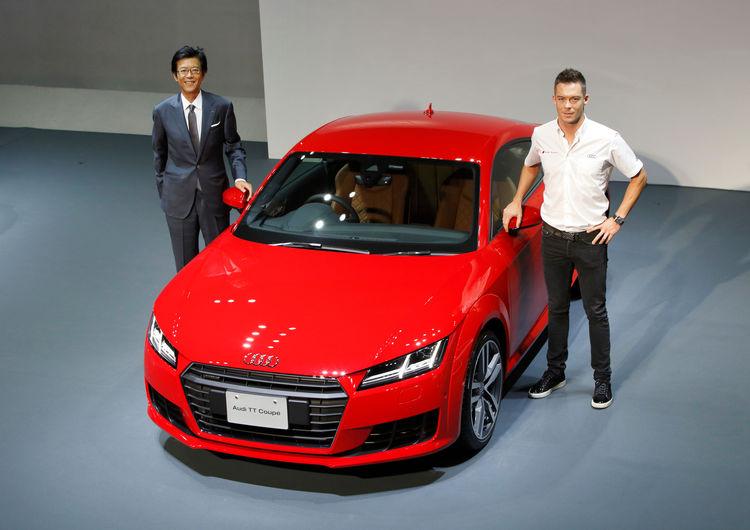 Präsentation Audi TT in Japan