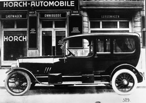 Horch 33/80 hp, city coupé, 4 cylinder (inline), 80 hp
