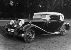 Horch 670 sport cabriolet, 6 l, 12 cylinder (V-engine), 120 hp