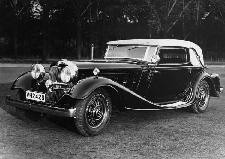 Horch 670 Sport Cabriolet, 6 l, 12 Zylinder (V-Form), 120 PS
