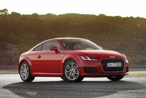 Audi TT 1.8 TFSI: Athlete in a compact format