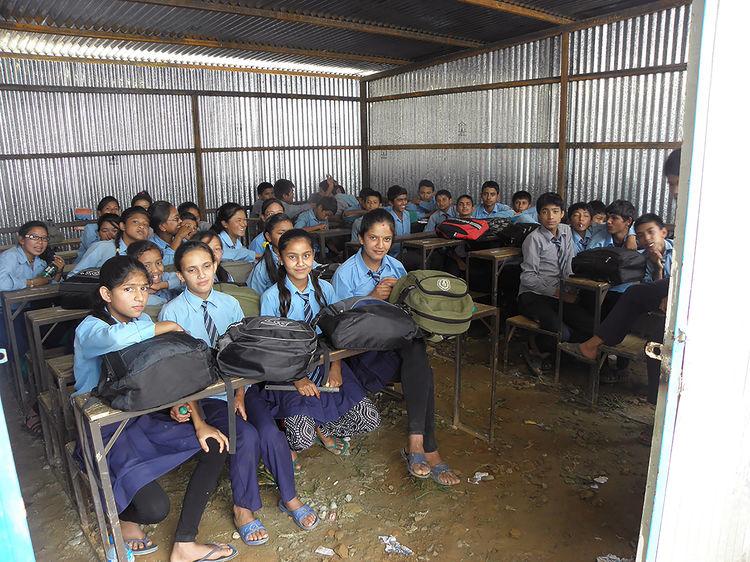 Audianer spenden für Nepal