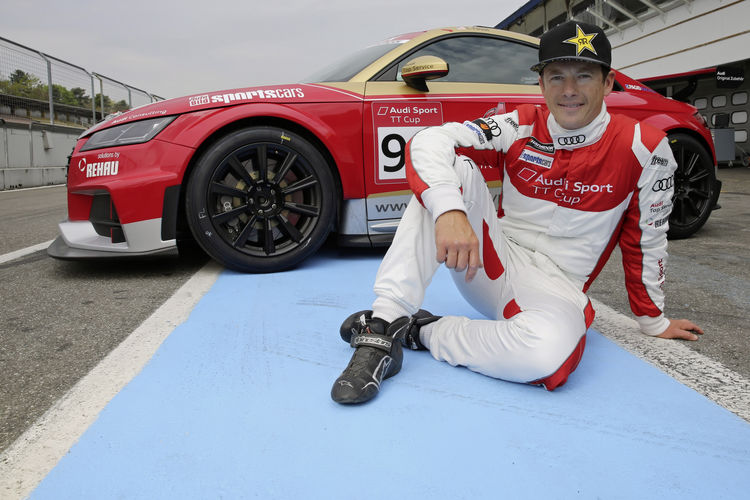 Weltpremiere des Audi Sport TT Cup