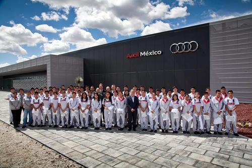 Ausbildungsstart bei Audi México