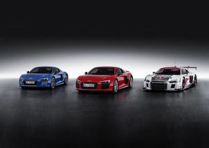 Audi R8-Sonderausstellung im Audi Forum Neckarsulm