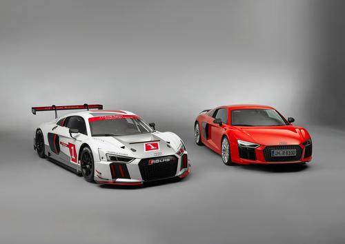 Audi R8 LMS, Audi R8 V10 plus