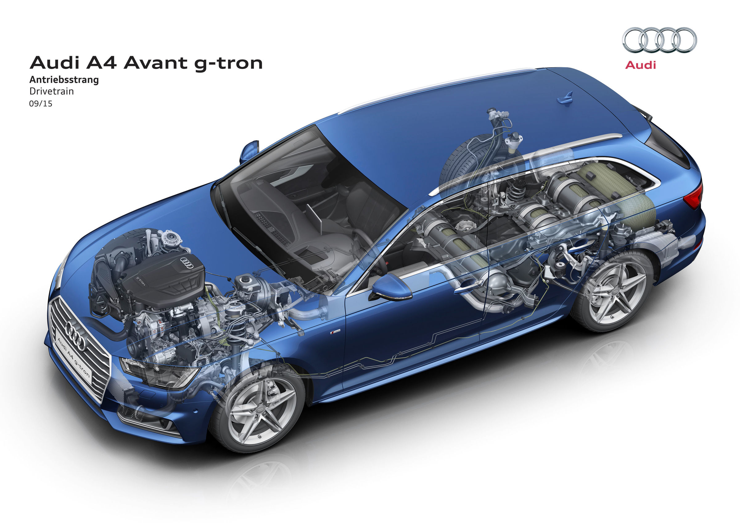 Power From Gas The New Audi A4 Avant G Tron Audi Mediacenter