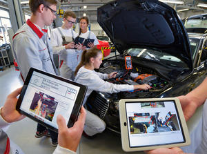 Audi launches vocational training 2015: