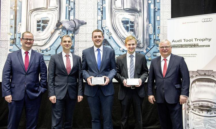 Audi Tool Trophy für kreative Nachwuchsingenieure