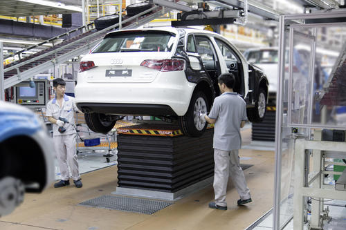 Audi Produktion in Foshan (China)
