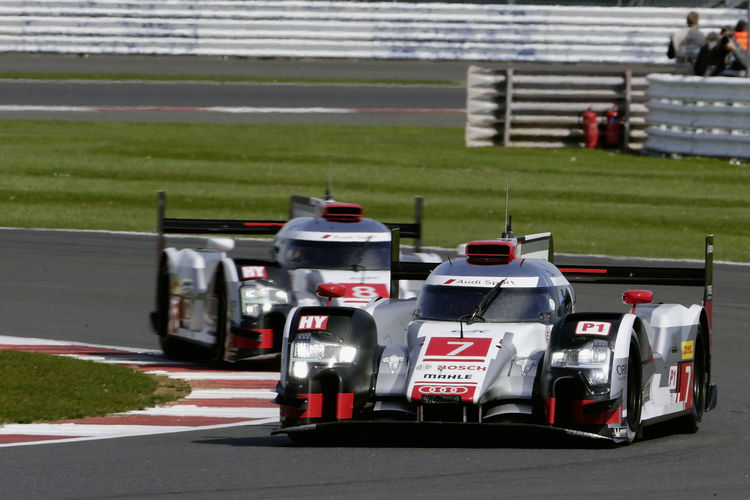 Audi before next WEC thriller