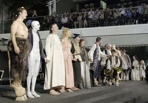 Salzburg Festival guest appearances in Ingolstadt 2002