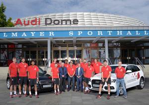 Bayerns Basketballer fahren Audi Q5