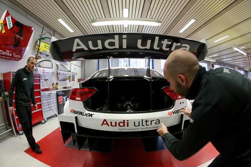 """Boxenstopp"" im Audi museum mobile"