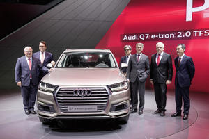 Audi at the Auto Shanghai 2015