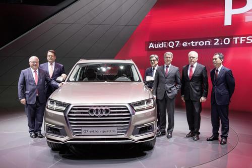 Audi at the Auto Shanghai 2015