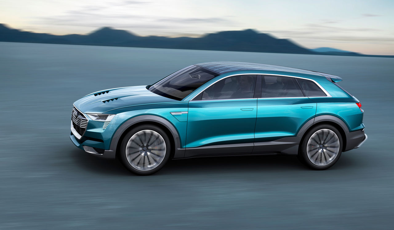 All Electric Into The Automotive Future The Audi E Tron Quattro Concept Audi Mediacenter