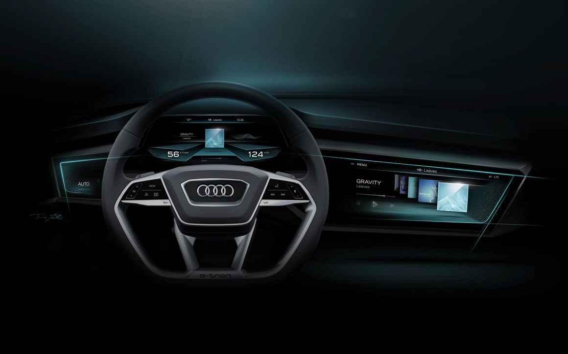 OLED display: the next step with the Audi virtual cockpit | Audi ... | {Auto cockpit audi 18}