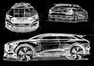 Audi e-tron quattro concept