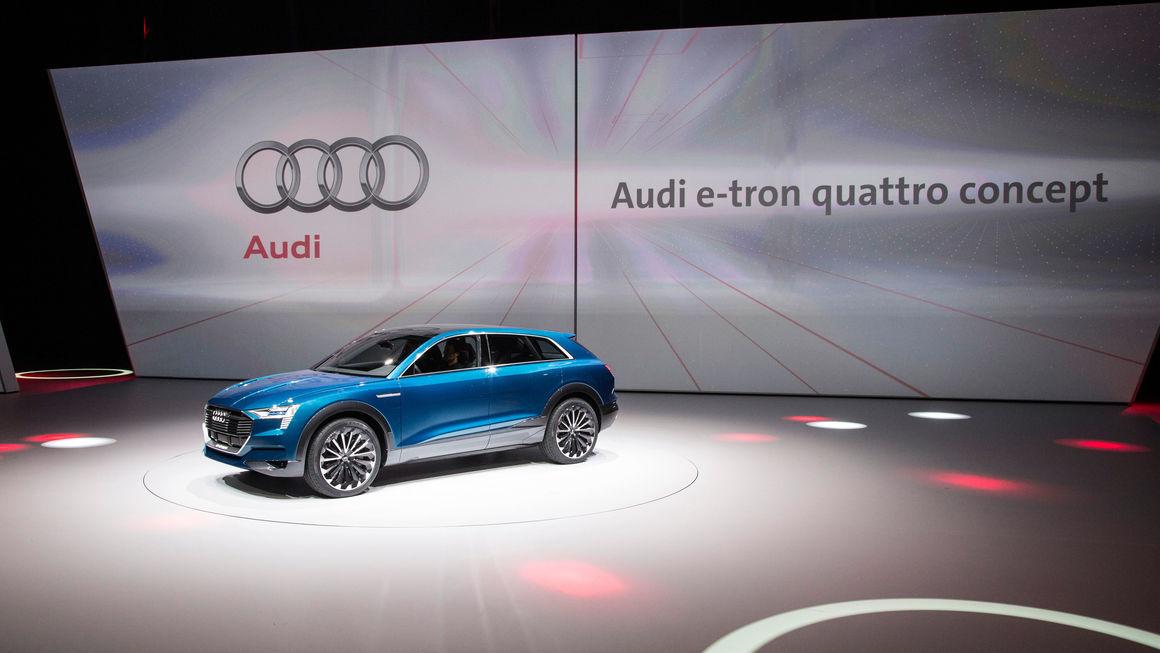 Audi bei der Volkswagen Group Night – Internationale Automobilausstellung (IAA) in Frankfurt
