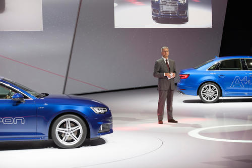 Audi bei der Volkswagen Group Night – Internationale Automobilausstellung (IAA) in Frankfurt