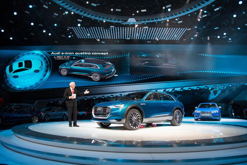 Audi at the 2015 IAA