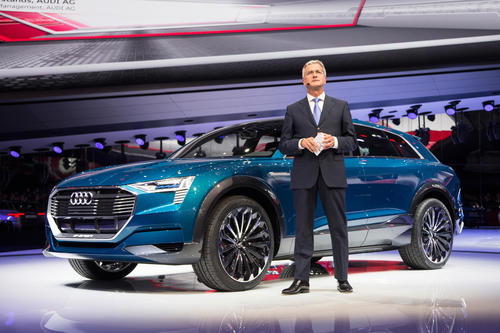 Audi auf der Internationalen Automobilausstellung (IAA) in Frankfurt