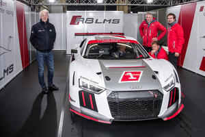 Track test R8 LMS, Nürburgring