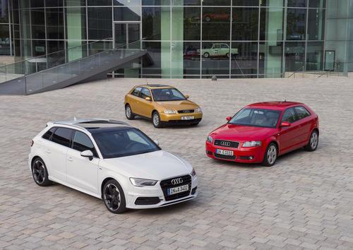 Audi A3 feiert 20. Geburtstag